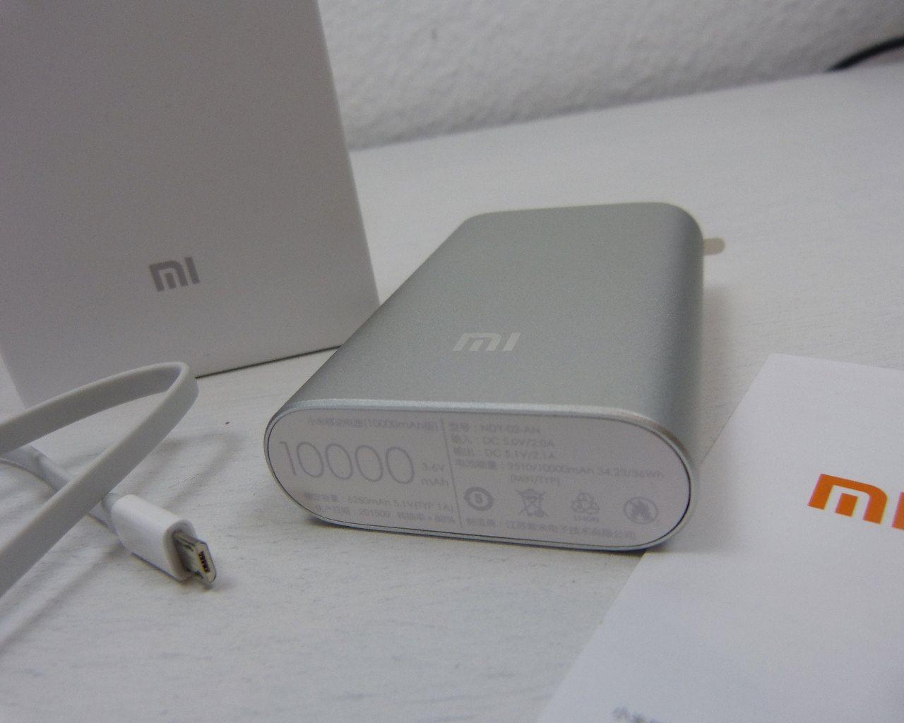 Original Xiaomi Powerbank Im Test 10000mah Die Testberichtseite