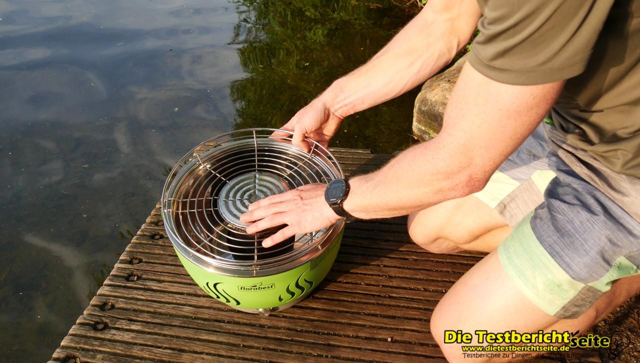 Florabest Holzkohlegrill Brennpaste : Florabest holzkohlegrill mit aktivbelüftung im langzeit test die