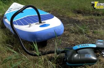 Elektrische SUP-Pumpe (bis 20 psi) im Test