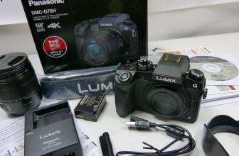 Unboxing: Panasonic Lumix G70 (DMC-GH70H)